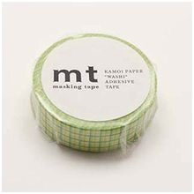 mt - mt Masking Tape : mt 1P Grid Lemon x Grass