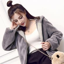 Shiga - Ear Hooded Furry Jacket