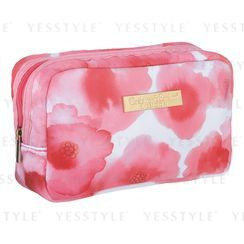 Crabtree & Evelyn - Pink Flower-Print Bag