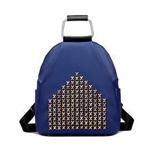 BeiBaoBao - Faux-Leather Studded Backpack