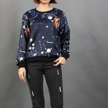 Momewear - Long-Sleeve Printed Top