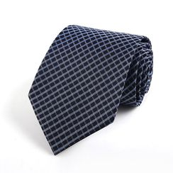 Xin Club - Patterned Silk Neck Tie (8cm)