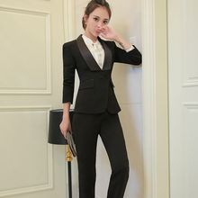 Princess Min - Jacket / Tie-Neck Blouse / Slim-Fit Pants / Pencil Skirt
