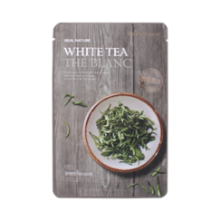 The Face Shop - Real Nature White Tea Mask Sheet 1pc