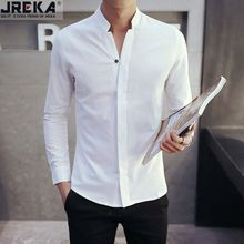 Jacka - Stand Collar Long-Sleeve Shirt