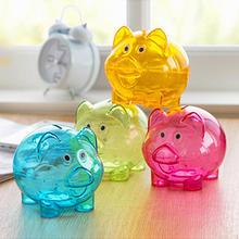 Home Simply - Transparent Pig Money-Box