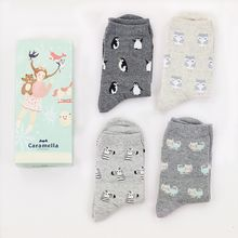 Socka - Pair of 4: Cartoon-Print Socks