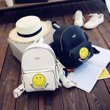 Secret Garden - Smiley Face Print Backpack