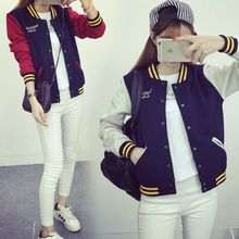 nika nila - Color-Block Baseball Jacket