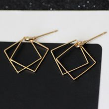 HEDGY - Geometric Layered Earrings