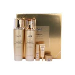 IOPE - Super Vital Extra Concentrated Special Set :  Softner 150ml + Emulsion 150ml + Serum 5ml + Eye Cream 3ml + Vio Excellent Rich Cream 7ml