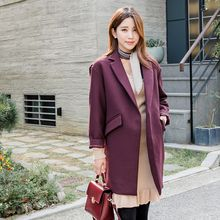 WITH IPUN - Single-Button Coat