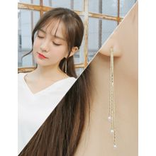 soo n soo - Faux-Pearl Drop Earrings