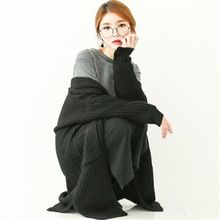GLAM12 - Wool-Blend Long Cardigan