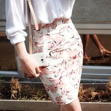 OTTI - Floral Print Pencil Skirt