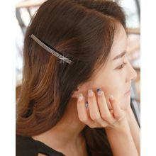 Miss21 Korea - Rhinestone Slim Hair Barrette