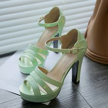 Colorful Shoes - High Heel Sandals