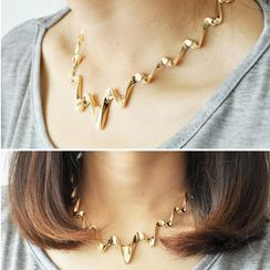 Ticoo - Wavy Necklace