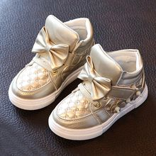Luco - Kids Bow High Top Sneakers