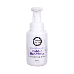 HAPPY BATH - Lilac & Lavender Bubble Hand Wash 250ml