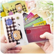Momoi - Bear Print Card Holder