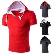 Hansel - Hooded Short Sleeve T-Shirt