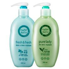 HAPPY BATH - Set: Pure Lady Feminine Cleanser 200ml + Fresh & Fresh Feminine Cleanser 200ml