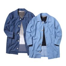 Seoul Homme - Buttoned Denim Jacket