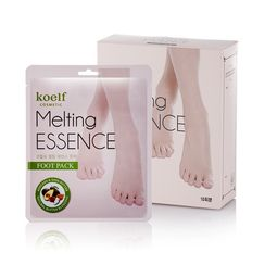 PETITFEE - koelf Melting Essence Foot Pack 10pcs