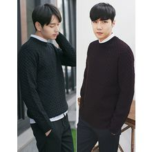 MITOSHOP - Round-Neck Knit Sweater