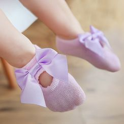 Cloud Femme - Baby Bow Lace Socks