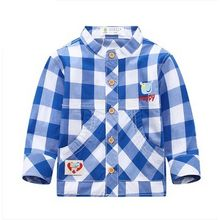 Endymion - Kids Plaid Shirt