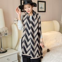 Rita Zita - Chevron Pattern Winter Scarf