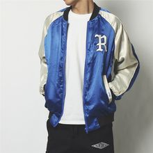 Mr.C studio - Color Block Baseball Jacket