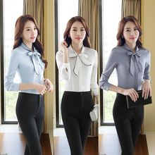 Princess Min - Set: Bow-Accent Blouse + Pants