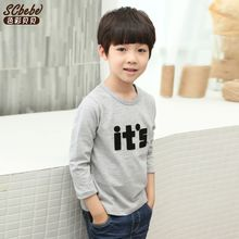 Babee - Kids Long-Sleeve Appliqué T-Shirt