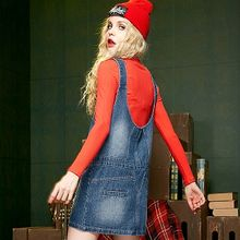 ELF SACK - Jumper Denim Dress