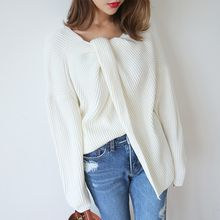 PPGIRL - Drop-Shoulder Knit Top