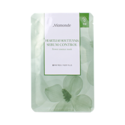 Mamonde - Flower Essence Heartleaf Houttuynia Mask (Sebum Control)