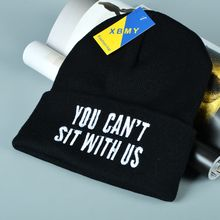 Buttercap - 'You Can't Sit With Us' Embroidered Beanie