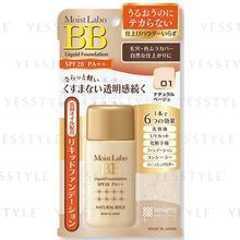 brilliant colors - Moist Labo BB Liquid Foundation SPF 28 PA++ (#01 Natural Beige)