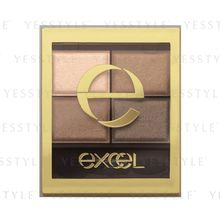 SANA - Excel Skinny Rich Shadow (#SR04 Smoky Brown)