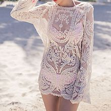 Sunset Hours - Crochet Cover-up