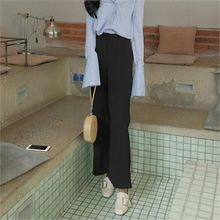 LIPHOP - Wide-Leg Boot-Cut Pants