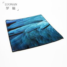 Luonan - Feather Print Pocket Square