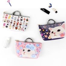 Full House - JETOY - Cat-Printed Coin Purse / Cable Organizer