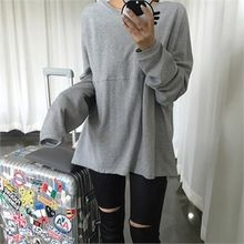 LIPHOP - Loose-Fit Round-Neck T-Shirt
