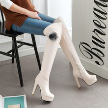 Pastel Pairs - HIgh Heel Over-the-Knee Boots