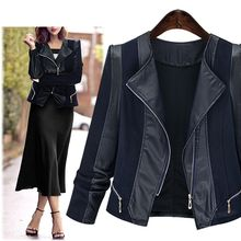 VIZZI - Faux-Leather Jacket