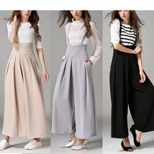 Fumoya - High Waist Wide Leg Jumper Pants